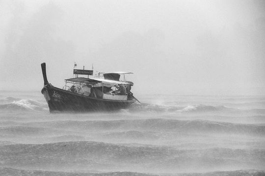 boat-on-stormy-sea