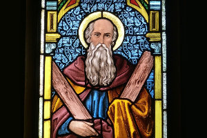 stained-glass-moses
