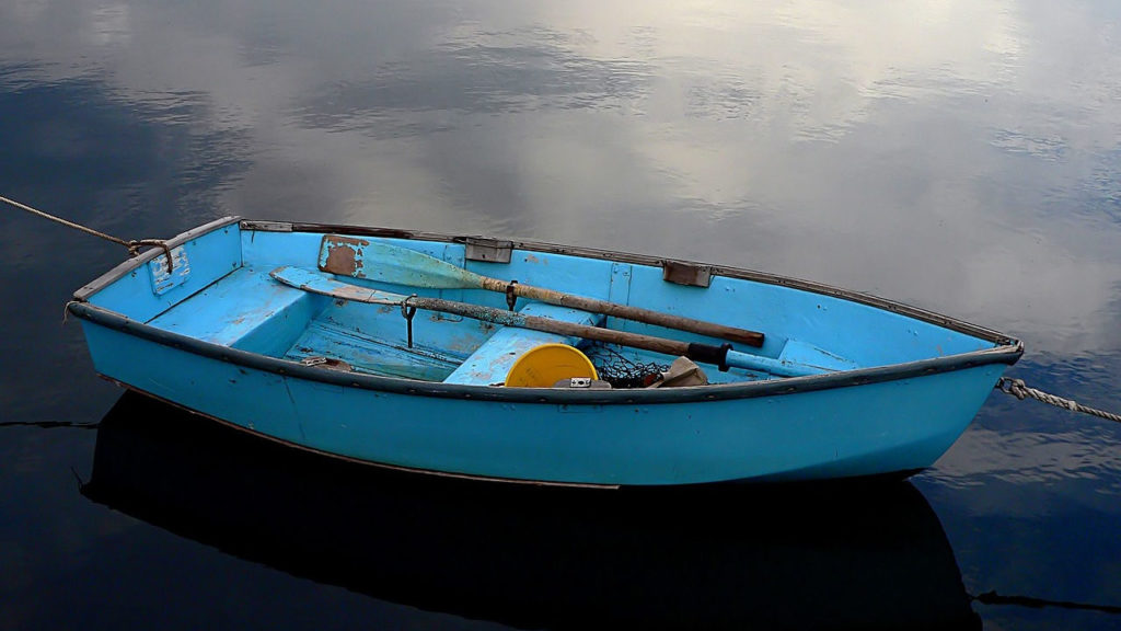 blue-rowboat